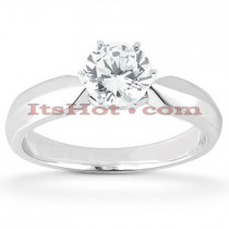 14K Solitaire Diamond Engagement Ring 0.50ct