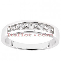 14K Womens Diamond Wedding Ring 0.15ct
