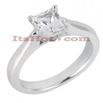 18K Gold Diamond Engagement Ring 0.81ct
