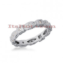 18K Gold Diamond Eternity Band 0.24ct