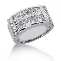18K Gold Ladies Diamond Ring 2.72ct