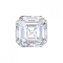 1CT. ASSCHER CUT DIAMOND G SI1