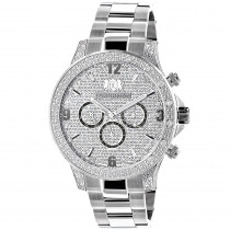 Celebrity Diamond Watch for Men by Luxurman 0.5ct Liberty