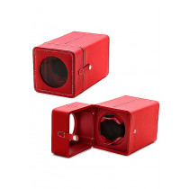 Accessories Watches: Single Red Watch Winder WW-10001-55