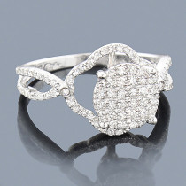 Affordable Diamond Engagement Ring 0.54ct 14K