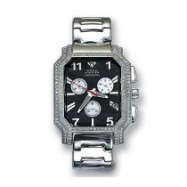 Aqua Master Diamond Watches Mens Stainless Steel Watch