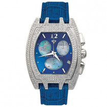 Aqua Master Iced Out Watches Mens Diamond Watch 3.50ct