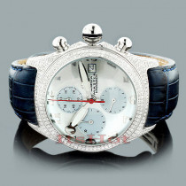 Aqua Master Mens Diamond Bubble Watch 3.50ct