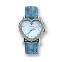 Aqua Master Watches Heart Shaped Diamond Watch 0.50ct