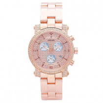 Aqua Master Watches Ladies Diamond Watch 1.75ct Rose