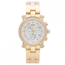 Aqua Master Watches Ladies Diamond Watch 1.75ct Yellow