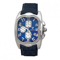 Aqua Master Watches Mens Diamond Watch 1.00ct Blue