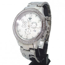 Aqua Master Watches Mens Diamond Watch 2.45ct