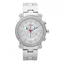 Aqua Master Watches Mens Diamond Watch 2.60ct