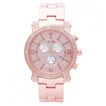 Aqua Master Watches Mens Diamond Watch 2.60ct Rose