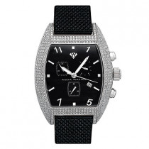 Aqua Master Watches Mens Diamond Watch 3.50ct