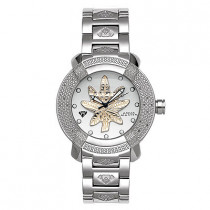 Aqua Master Watches Mens Diamond Watch Round Face