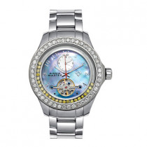 Aqua Master Watches Mens Floating Diamond Watch 5.75ct