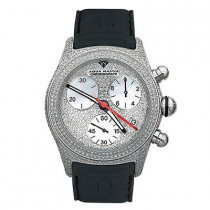 Aqua Master Watches Mens Fully Paved Diamond Watch 7.5