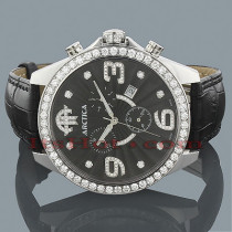 Arctica Mens VS Diamond Watch 4.00ct
