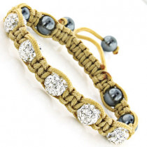 Baby Jewelry: Disco Ball Bracelet with Crystals