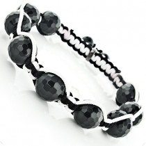 Black and White Disco Ball Bracelet