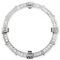 Breitling Custom Diamond Bezel for Super Avenger 1.20 carats