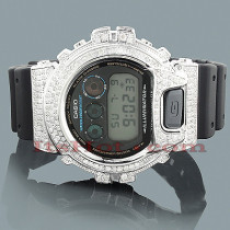 Casio G-Shock Diamond Watch 4.5ct Gold Plated