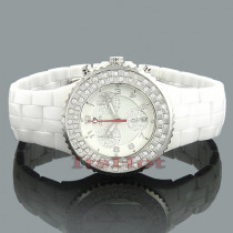 Ceramic Watches Aqua Master Diamond Watch 1.25c Unisex