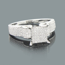 Cheap Engagement Rings: Ladies Diamond Ring 0.42ct 10K Gold