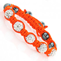 Childrens Jewelry: Disco Ball Bracelet with Crystals