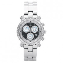 Chronograph Watches Aqua Master Diamond Watch 3.00ct