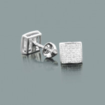 Classic Diamond Stud Earrings 0.11ct 10K Gold