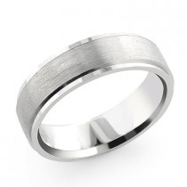 Cosmopolitan Medium Wedding Band for Men 14K Gold