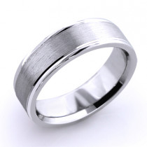 Cosmopolitan Wedding Band for Men 18K Solid Gold