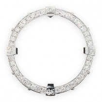 Custom Diamond Bezel for Breitling Super Avenger 2.80ct