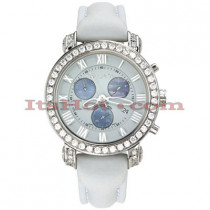 Diamond Benny and Company Watch Mens 3ct White