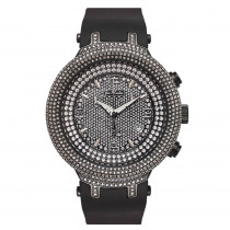 Diamond Bezel Watches: Joe Rodeo Master 6.50ct Black