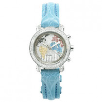 Diamond Ladies JoJo Joe Rodeo Watch 0.60ct Blue
