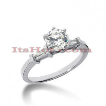 Diamond Platinum Engagement Ring 1.20ct