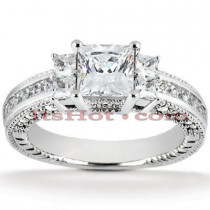 Diamond Platinum Engagement Ring 1.88ct