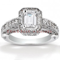 Diamond Platinum Engagement Ring 2.05ct