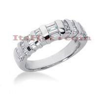 Diamond Platinum Engagement Wedding Ring 0.90ct