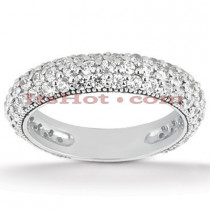 Diamond Platinum Engagement Wedding Ring 1.52ct