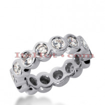 Diamond Platinum Eternity Band 0.80ct