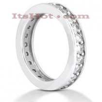 Diamond Platinum Eternity Band 1.20ct