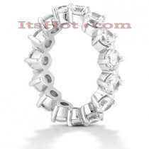 Diamond Platinum Eternity Band 3.75ct