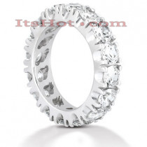Diamond Platinum Eternity Band 4ct