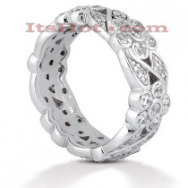 Diamond Platinum Eternity Ring 1.23ct