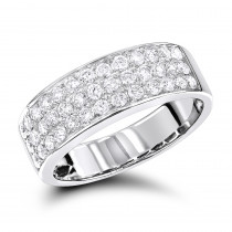 Elegant Diamond Wedding Bands by Luxurman 14K Gold 0.85ct